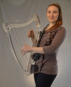 The Harp Hugger is almost as invisible as the harp, and takes mere seconds to put on or off.