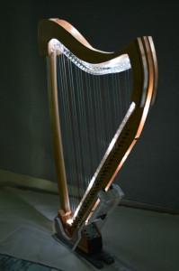 Illuminated Figment Harp