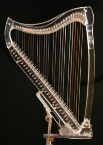 ClearTones 30 string lucite harp