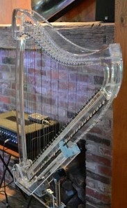 Cleartones harp, on the hearth!